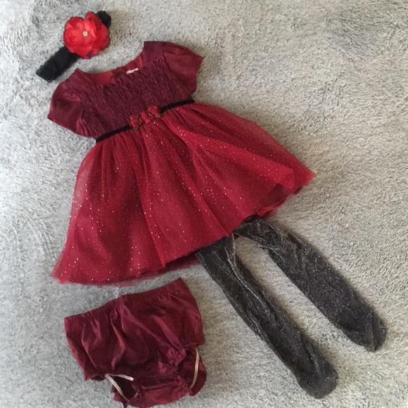 formal baby girl christmas dress